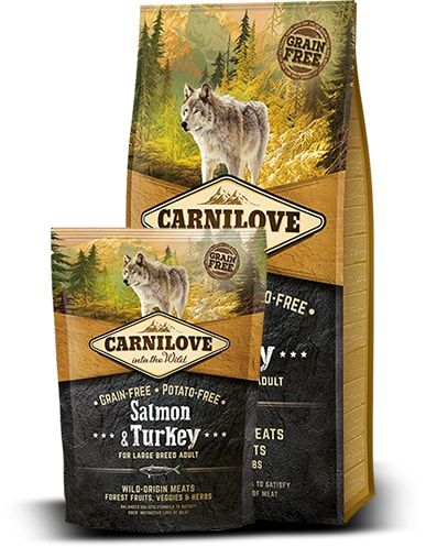 Carnilove Dog Salmon & Turkey for Large Breed Adult 1,5kg