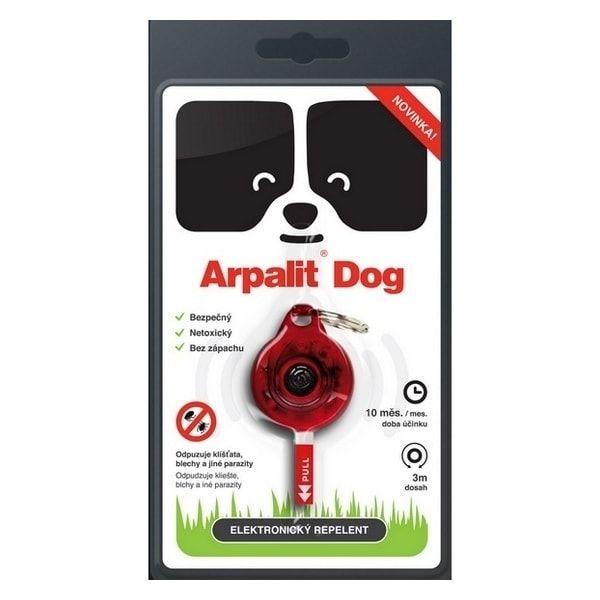 Arpalit Elektronický odpuzovač klíšťat pro psy 1ks