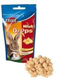 Trixie hlod. poch. drops Mléko 75g