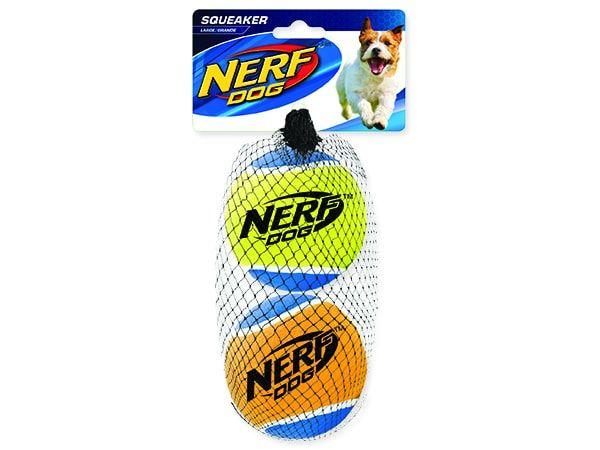 Hračka NERF tenisák pískací 7 cm 2ks