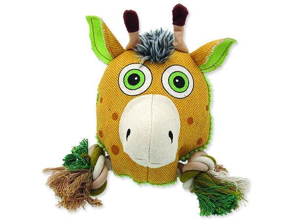 Hračka DOG FANTASY textilní jelen 20 cm