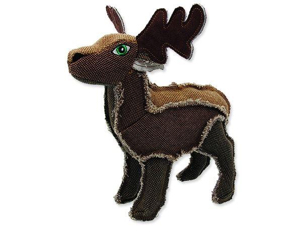 Hračka DOG FANTASY textilní jelen 25 cm
