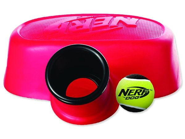 Hračka NERF pumpa vystřelovací červená