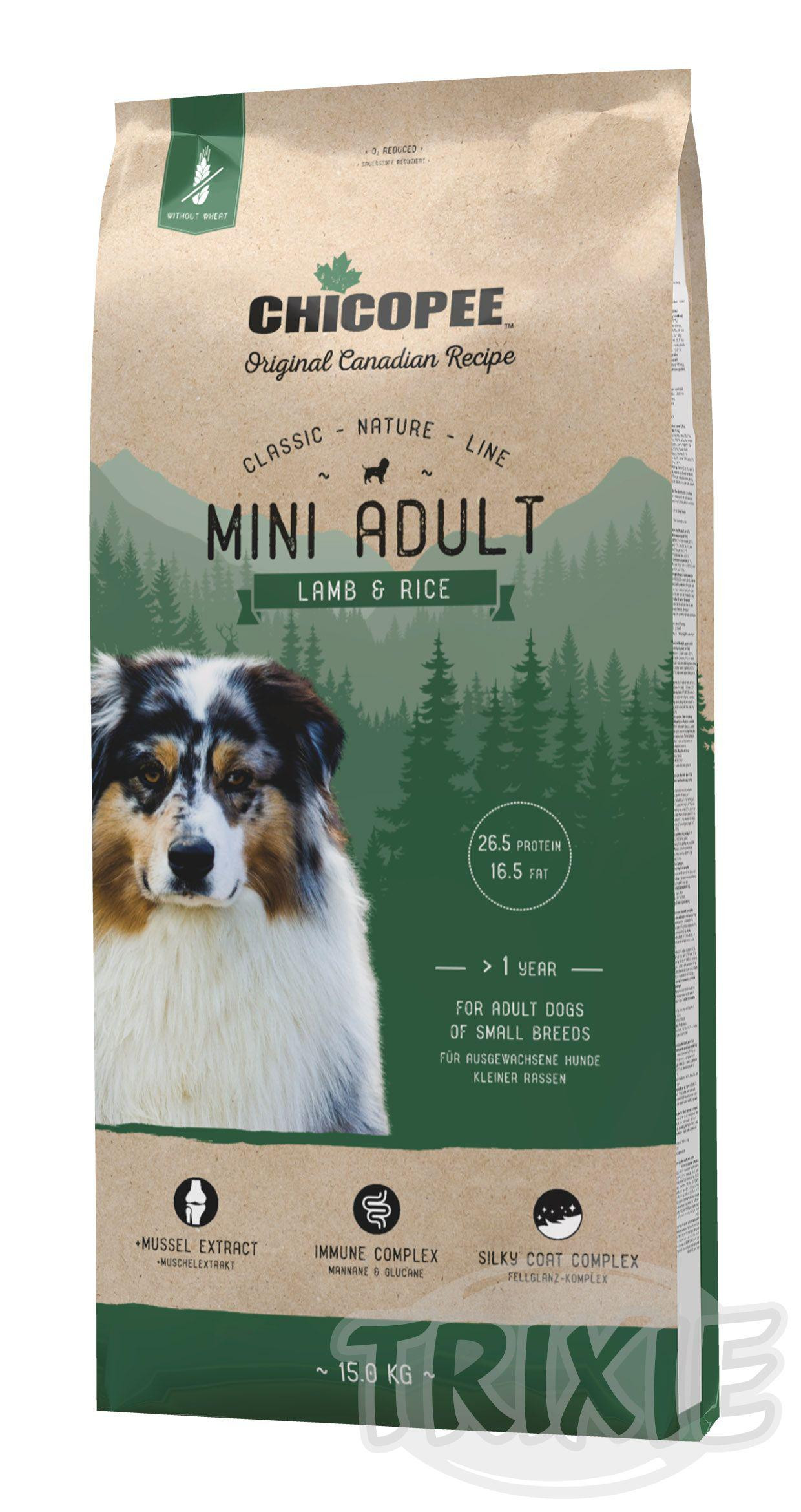 CHICOPEE CN ADULT MINI lamb/rice 15kg