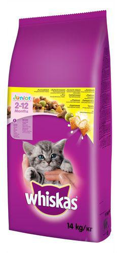WHISKAS suché JUNIOR 14kg