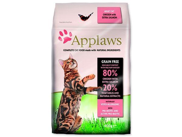 APPLAWS Dry Cat Chicken & Salmon 400g