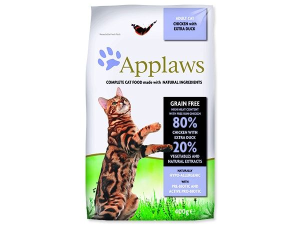 APPLAWS Dry Cat Chicken with Duck 400g