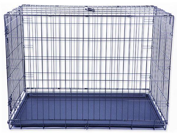 Klec DOG FANTASY skládací černá XL - 1 dveře