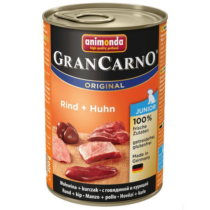 Animonda Gran Carno Junior hovězí / kuřecí 400g