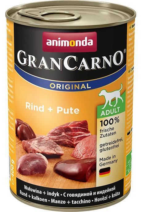 Animonda Gran Carno Hovězí + Krůta 400g