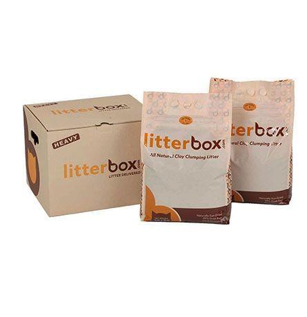 Litterbox přírodní hrudkujicí stelivo pro kočky 30 kg