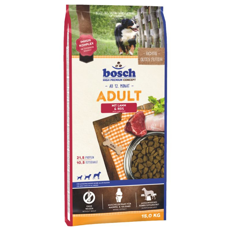 Bosch Adult Lamb & Rice 15 kg