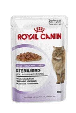 Royal canin Kom. Feline Sterilised kapsa, želé 85g