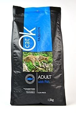 OK Cat Passion Adult Fish 1,5kg