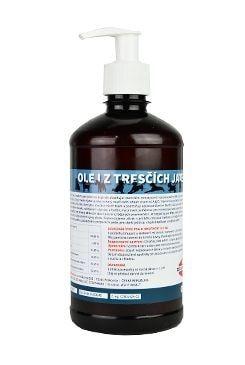 Olej z tresčích jater pro psy ZEUS 100% 500 ml