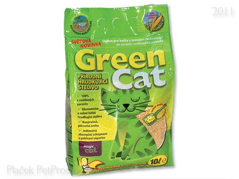 Kočkolit GREEN cat 12l/3kg