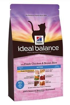 Hill's Feline Ideal B. Kitten kuře rýže 2kg