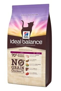 Hill's Feline Ideal B. Adult NO GRAIN kuře bram 2kg
