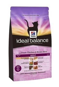 Hill's Feline Ideal B. Adult kuře a rýže 4kg