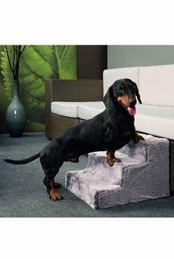 Schody pro psa Easy Step Dog 43x41x29cm šedé KAR