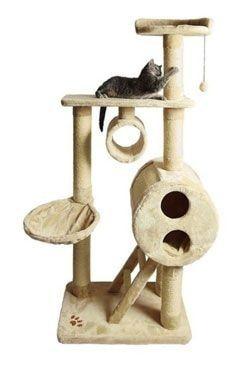 Odpočívadlo pro kočky MIJAS béžové 176cm TR