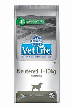 Vet Life Natural DOG Neutered 1-10kg 10kg