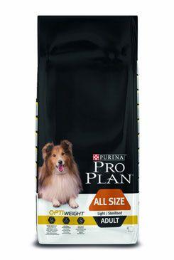 ProPlan Dog All Size Adult Light/Sterilised 14kg