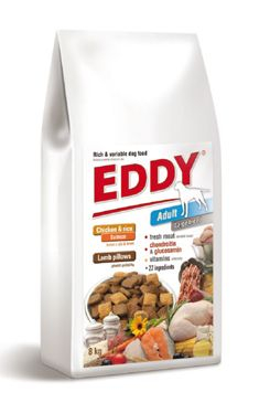 EDDY Adult Large Breed polštářky s jehněčím 8kg