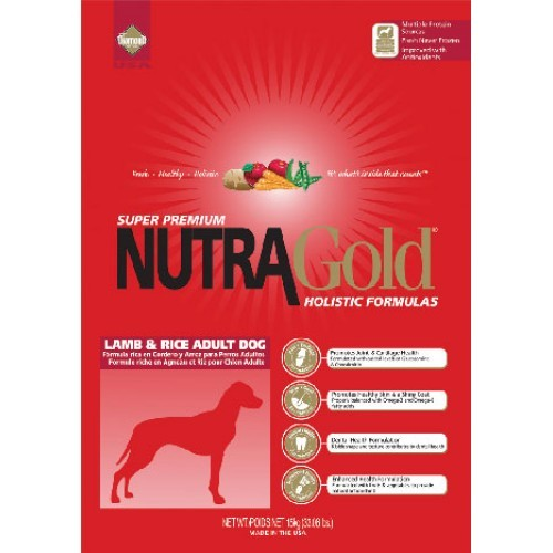 NUTRA GOLD ADULT lamb/rice 3kg