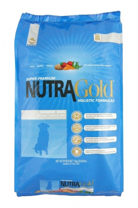NUTRA GOLD SENIOR 15kg - DOPRAVA ZDARMA