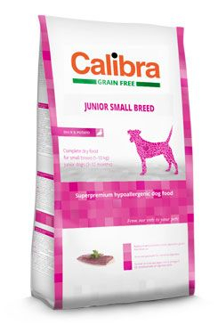Calibra Dog GF Junior Small Breed Duck 2kg