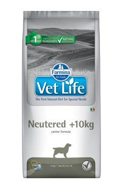 Vet Life Natural DOG Neutered 10kg 2kg
