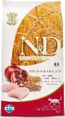 N&D low grain cat ADULT CHICKEN/pomergranate 1,5kg