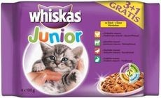 WHISKAS kapsa 4ks JUNIOR