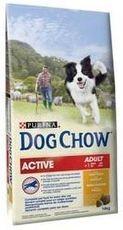 PURINA dog chow ACTIV kuřecí 14kg