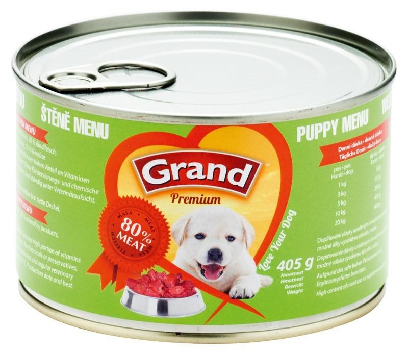 Grand konz. 405g ŠTĚNĚ menu
