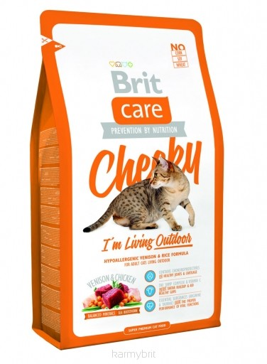BRIT CARE cat OUTDOOR - CHEEKY 2kg