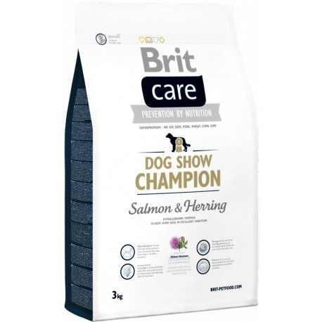 BRIT CARE dog new SHOW CHAMPION 3kg