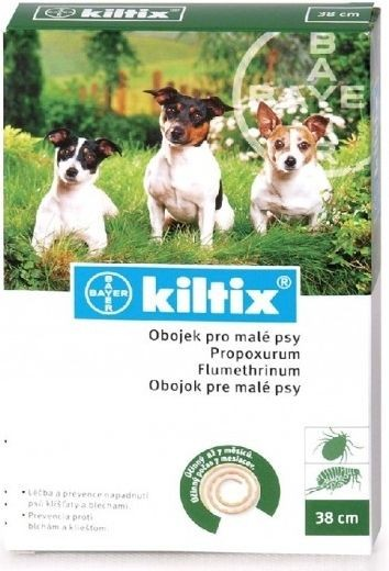 Antiparazitní obojek KILTIX 70cm