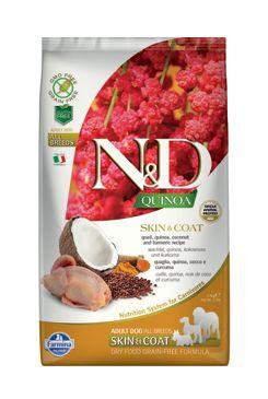 N&D GF Quinoa DOG Skin&Coat Quail & Coconut 2,5kg