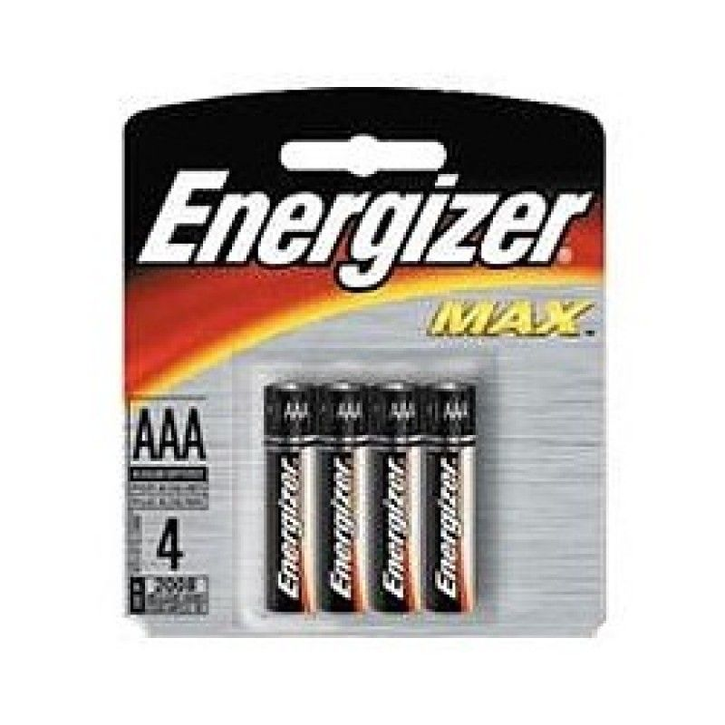 Baterie Energizer AAA 4ks