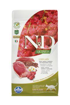 N&D GF Quinoa CAT Urinary Duck & Cranberry 1,5kg