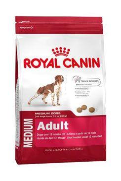 Royal Canin - komerční krmivo a Breed Royal canin Kom. Medium Adult 15kg