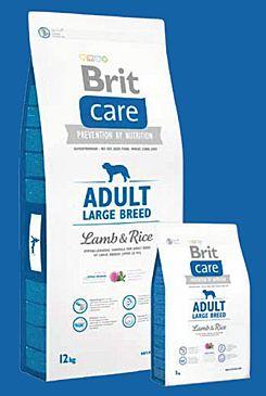 Brit Care Dog Adult Large Breed Lamb & Rice 12kg