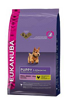 Eukanuba Dog Puppy&Junior Small 3kg