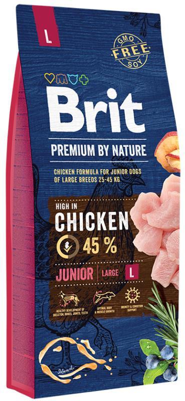 BRIT dog Premium By Nature JUNIOR L 15kg