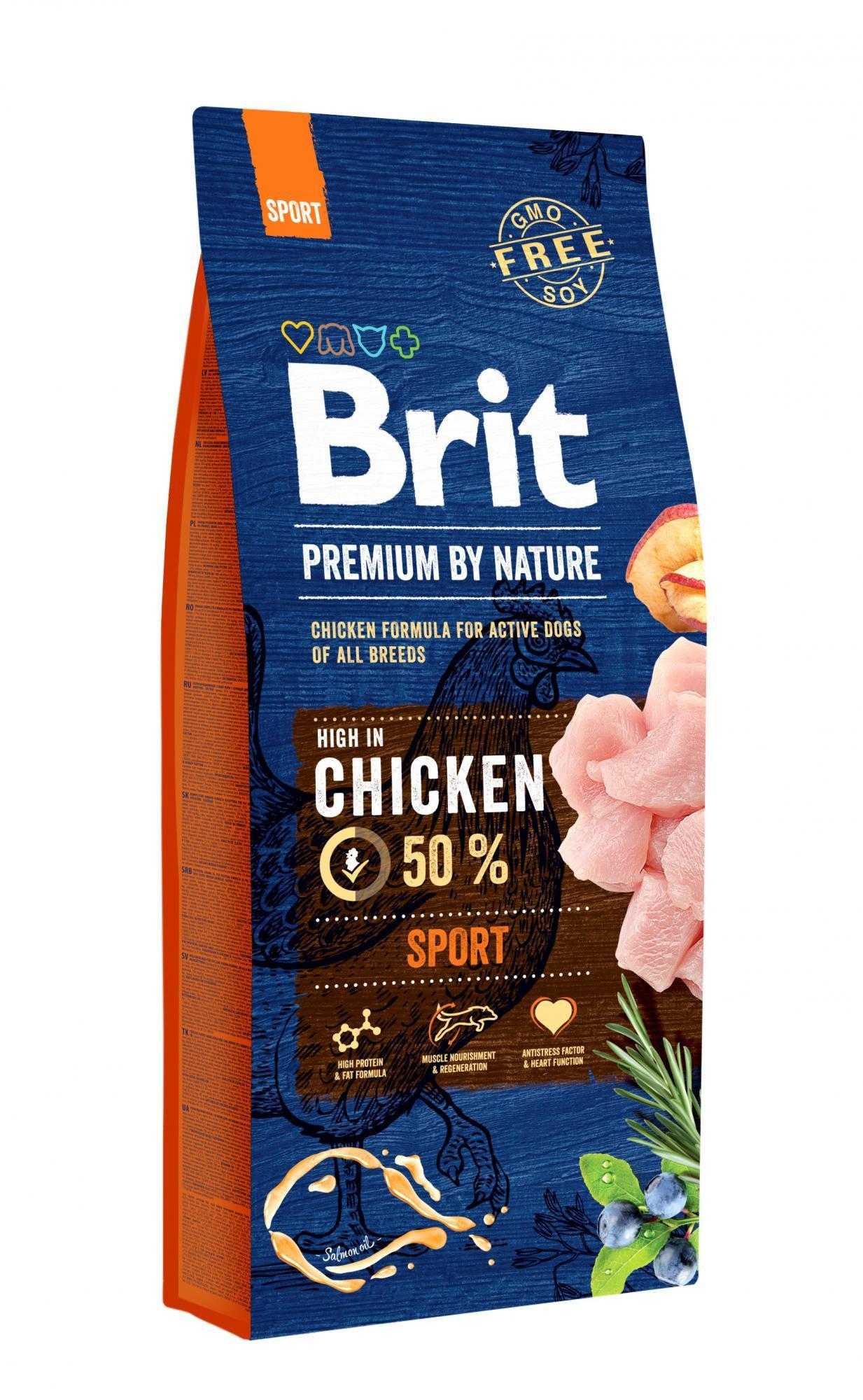 BRIT dog Premium By Nature SPORT 15kg
