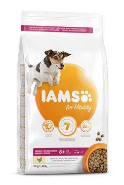 Iams Dog Senior Small&Medium Chicken 3kg