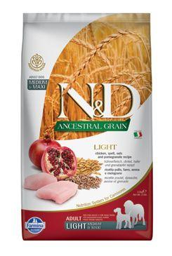 N&D LG DOG Light M/L Chicken&Pomegranate 2,5kg