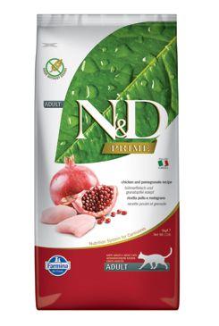 N&D PRIME CAT Adult Chicken & Pomegranate 10kg